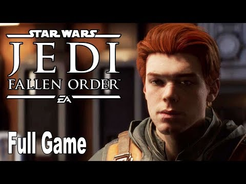 Star Wars Jedi Fallen Order - Full Gameplay Walkthrough Part 1 No Commentary (Full Game) [HD 1080P]