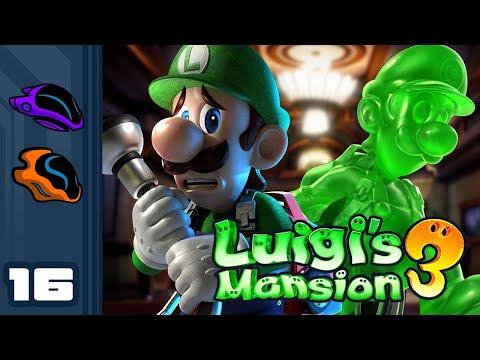 Let's Play Luigi's Mansion 3 - Switch Gameplay Part 16 - Jousting Nonsense