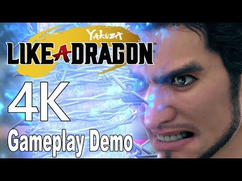 Yakuza: Like a Dragon/Yakuza 7 - Gameplay Demo Walkthrough No Commentary [4K]