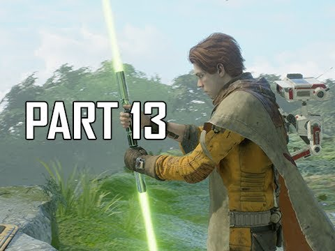 STAR WARS JEDI FALLEN ORDER Walkthrough Part 13 - Double Lightsaber