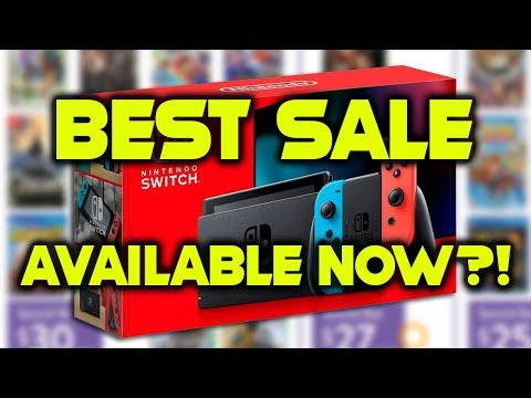 Best Black Friday 2019 Nintendo Switch Bundle AVAILABLE NOW?
