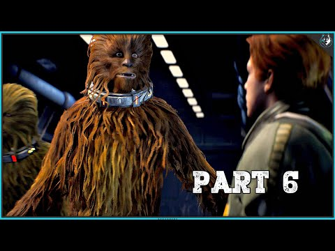 Star Wars Jedi Fallen Order Playthrough Part 6 - THE WOOKIES | PS4 Pro Gameplay