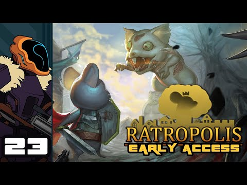 Let's Play Ratropolis (Early Access) - PC Gameplay Part 23 - All Military, No Industrial Complex