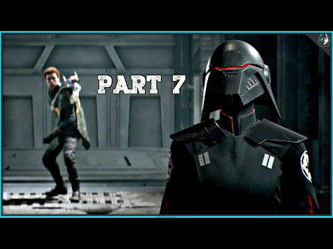Star Wars Jedi Fallen Order Playthrough Part 7 - THE SECOND SISTER | PS4 Pro Gameplay
