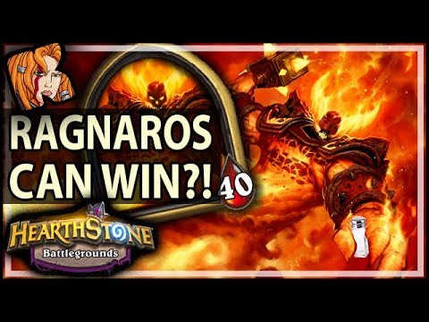 RAG CAN ACTUALLY WIN?! - Hearthstone Battlegrounds