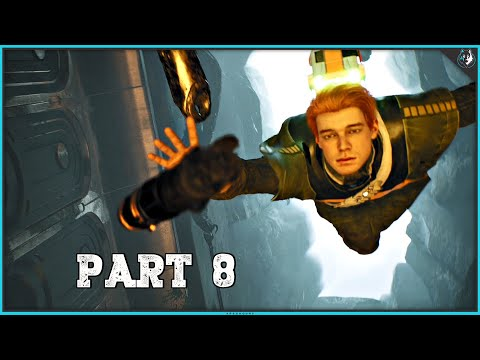 Star Wars Jedi Fallen Order Playthrough Part 8 - TOMB OF MIKTRULL | PS4 Pro Gameplay