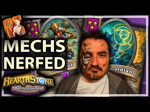 THEY NERFED MECHS?? Well… Not Quite - Hearthstone Battlegrounds