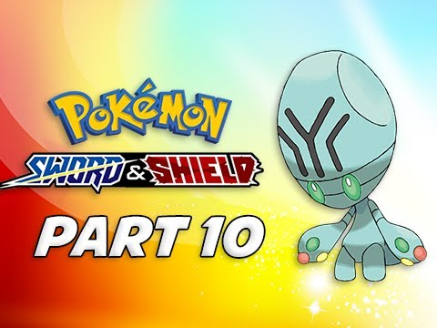 POKEMON SWORD & SHIELD Walkthrough Part 10 - Wild Area (Nintendo Switch)
