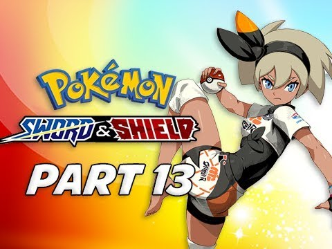 GYM LEADER BEA - POKEMON SWORD & SHIELD Walkthrough Part 13 (Nintendo Switch)