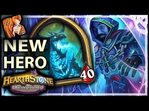 NEW HERO SINDRAGOSA! - Hearthstone Battlegrounds