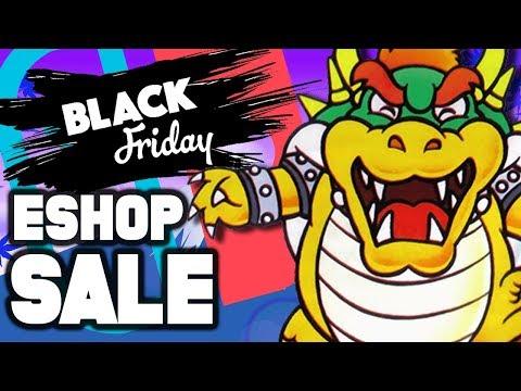 Nintendo eShop Black Friday Sale BUMMER! How Did This Happen?!
