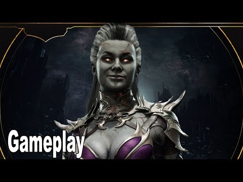 Mortal Kombat 11 - Sindel Gameplay Demo [HD 1080P]
