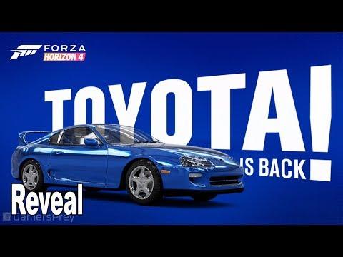 Forza Horizon 4 - Toyota Supra Details [HD 1080P]