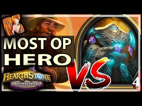 MOST OP HERO?! BRANN vs CURATOR - Hearthstone Battlegrounds