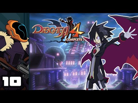 Let's Play Disgaea 4 Complete+ - Switch Gameplay Part 10 - The Cutest Final Boss