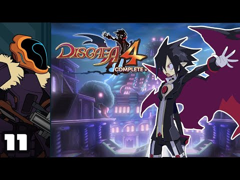 Let's Play Disgaea 4 Complete+ - Switch Gameplay Part 11 - Hearsay