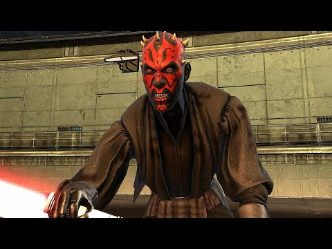 Proxy Darth Maul Boss Fight Scene - Star Wars The Force Unleashed