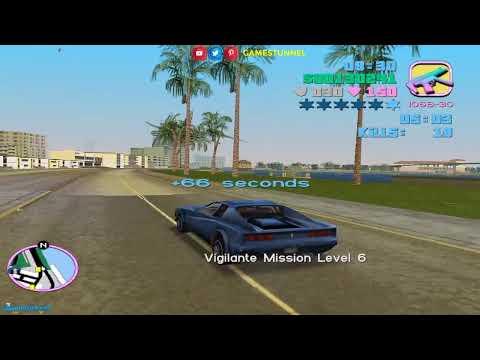 🔴 ScorpionGod, The Vigilante in Miami Challenge — VC Vigilante Missions ► GTA Vice City