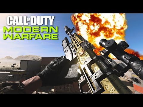 Getting GOLD GUNS in CALL OF DUTY: MODERN WARFARE!! (COD MW Multiplayer Gameplay)