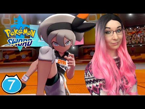 4th Gym Bea Fighting Challenge - Pokemon Sword Walkthrough Part 7