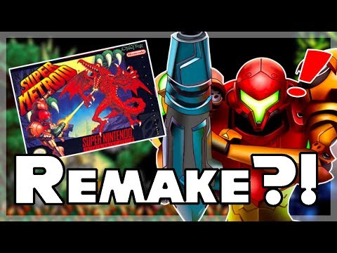 Super Metroid REMAKE Coming To Switch?!
