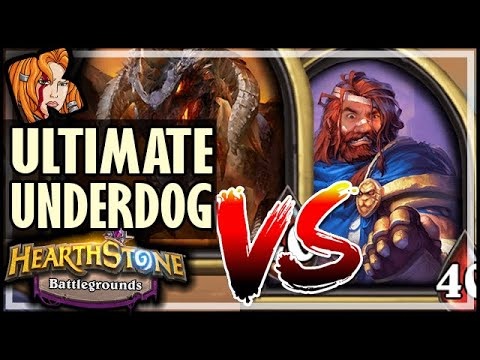GEORGE vs NEF! ULTIMATE UNDERDOG - Hearthstone Battlegrounds