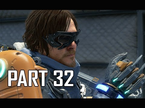 DEATH STRANDING Walkthrough Part 32 - Oxygen Mask (PS4 Pro)