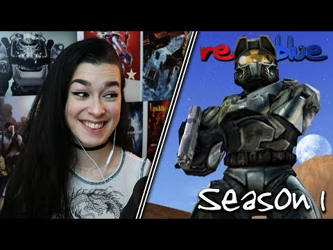 THIS DOESN'T END WELL... | Red vs. Blue Reaction | Season 1 | EP 9-19