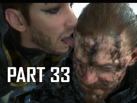 DEATH STRANDING Walkthrough Part 33 - Lick Attack (PS4 Pro)