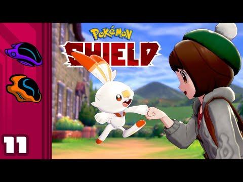 Let's Play Pokemon Shield - Switch Gameplay Part 11 - Battle At Big Bridge