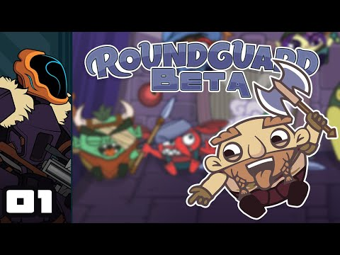 Let's Play Roundguard (Beta) - PC Gameplay Part 1 - It's Roguelite Peggle, WHICH IS AWESOME