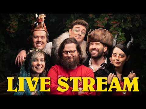 Oxventure Music Video Reveal! Charity Live Stream for Mind - Q&A, D&D Games, Pictionary, Challenges