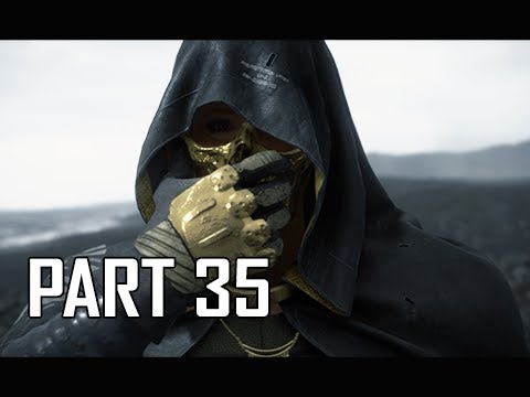 DEATH STRANDING Walkthrough Part 35 - (PS4 Pro)