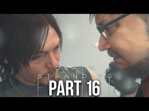 DEATH STRANDING Gameplay Walkthrough Part 16 - TRAVELLING WITHOUT BB (Full Game)