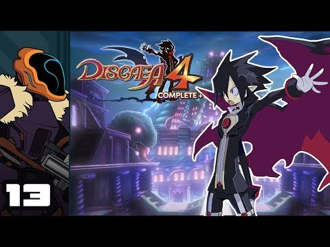 Let's Play Disgaea 4 Complete+ - Switch Gameplay Part 13 - The Angel Of Averice