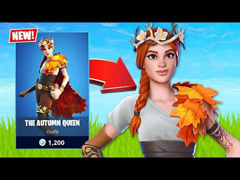 New The Autumn Queen Skin! (Fortnite Battle Royale)