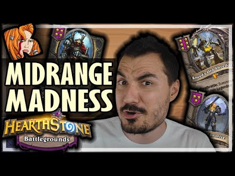 THE B-TEAM?! MIDRANGE MADNESS - Hearthstone Battlegrounds