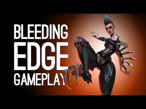 Bleeding Edge Gameplay: BLACK SWAN NOO (Let's Play Bleeding Edge on Xbox One)