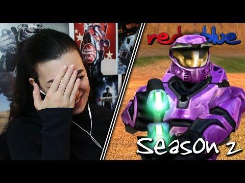 RED VS BLUE VS PURPLE?... | Red vs. Blue Reaction | Season 2 | EP 1-10