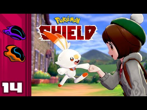 Let's Play Pokemon Shield - Switch Gameplay Part 14 - Courage The Cowardly Bug