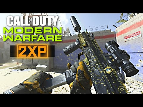 DOUBLE XP & GOLD GUNS!! (Call of Duty: Modern Warfare)