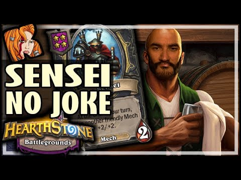 IRON SENSEI IS NO JOKE! - Hearthstone Battlegrounds