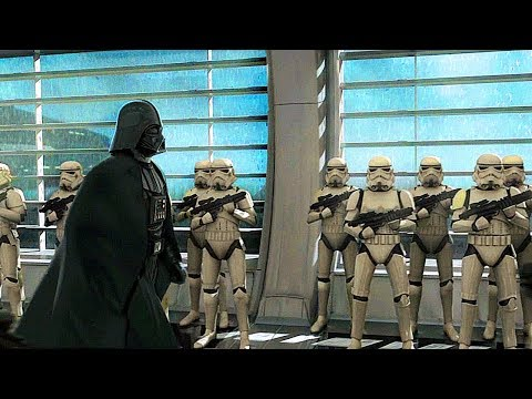 Darth Vader Cloning Process Scene - Star Wars The Force Unleashed 2
