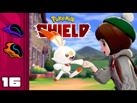 Let's Play Pokemon Shield - Switch Gameplay Part 16 - Tank Girl