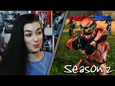 CAN HE BE STOPPED?... | Red vs. Blue Reaction | Season 2 | EP 11-19