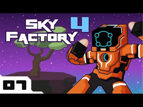 Let's Play Minecraft Sky Factory 4 Modpack - Part 7 - Gotta Grow 'Em All!
