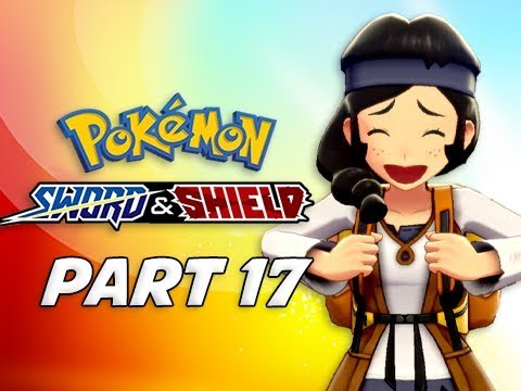 POKEMON SWORD & SHIELD Walkthrough Part 17 - Route 8 (Nintendo Switch)