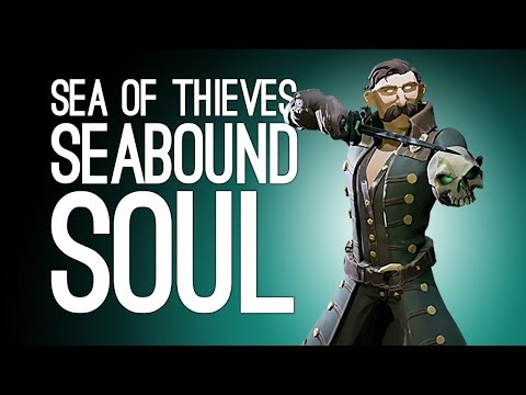 Sea of Thieves Seabound Soul Gameplay: GHOST PIRATE! SHIP BURNING! (Ep. 1/2)
