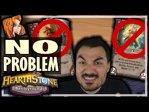 NO BRAN? NO FANG? NO PROBLEM! - Hearthstone Battlegrounds