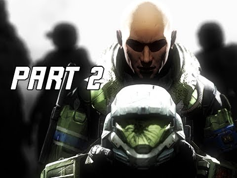 HALO REACH Gameplay Walkthrough Part 2 - JUN (Master Chief Collection)